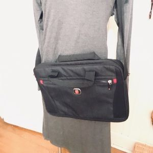 Swiss Gear Laptop Case -11 by 15 black padded ,